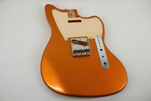 MJT Official Custom Vintage Age Nitro Guitar Body Mark Jenny VTM Candy Tangerine