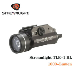 Stream light 69260 TLR-1 HL 1000-Lumen Weapon Mount Light With - Black