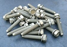 5/16 - 18 x 1 1/2 Hex Head Bolts Lot of 25 Bolt Plated Steel Auto Truck Ag