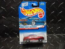 Hot Wheels #910 Metal Flake Maroon Monte Carlo Concept Car w/5 Spoke Wheels HTF