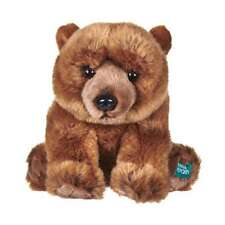 """NEW OFFICIAL DAVID ATTENBOROUGH BBC PLANET EARTH GRIZZLY BEAR 12"""" PLUSH SOFT TOY"""