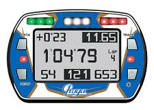 Praga Estilo Gel Pegatina Para lap timer Alfano PRO III Evo-Karting