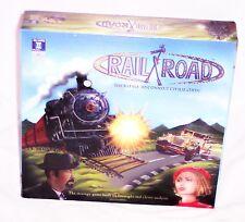 Rail/Road Strategy Board Game