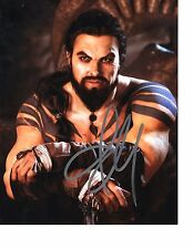 Jason Momoa Game of Thrones Hand Signed 8x10 Autographed Photo w/COA JM 01 Look
