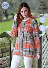 Super Chunky Cardigans Patterns