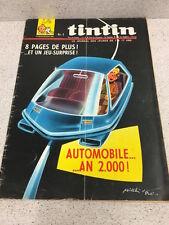 TINTIN  N°967 19e ANNEE  4 MAI 1967 REVUE MAGAZINE VINTAGE