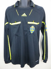 Adidas Sweden Referee Football Shirt Soccer Jersey Long Sleeve Skjorte Large L