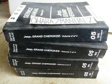 2005 Jeep Grand Cherokee Service Manuals Manual Complete Set OEM