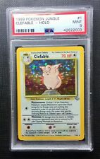 Pokemon PSA 9 Clefable Holo Jungle #1/64 Mint