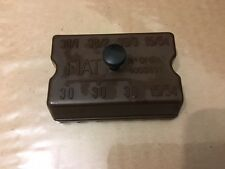 New old stock fiat 500 n 600 1100 120 jolly 4 way ceramic fuse box cover 4003891