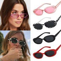 Fashion Women Oval Frame Sunglasses Small Glasses Retro Sun Glasses Accessories