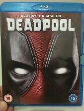 Deadpool Blu-ray [Region-free]