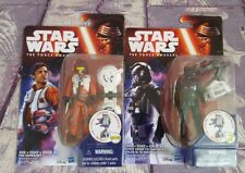 Hasbro Star Wars The Force Awakens Poe Dameron and First Order Tie Pilot Figures