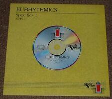 MUSIC LIBRARY MUSIC HOUSE eurhythmics,specifics 1 MO FOSTER,PETE VAN HOOK 1988