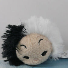 "DISNEY TSUM TSUM 101 Dalmatians Cruella De Vil 3 1/2"" Stuffed animal please read"