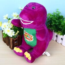 1PC 12'' SINGING BARNEY THE DINOSAUR SOFT BEAR DOLL PLUSH KID BABY TALKING TOY