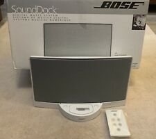 Brand New - Bose SoundDock Digital Music System For Ipod/White/Infrared Remote