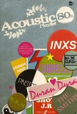 Acoustic Playlist The 80s Eighties Play Guitar Crowded House Roxy Music Book