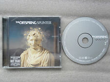 CD-ALBUM-THE OFFSPRING SPLINTER-12 TRACK-2003-HIT THAT/NEOCON/LONG WAY HOME_//__