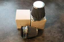 DUCATI 900 SS BEVEL MOTO GUZZI K&N STYLE POWER CONE AIR FILTERS FOR DELLORTO'S