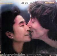 John Lennon & Yoko Ono 1984 Milk & Honey Original Jumbo Poster The Beatles