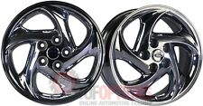 SET OF 4 Ford Probe 16x7 5-114.3 ET40 LH & RH Directional Chrome Rims & Caps