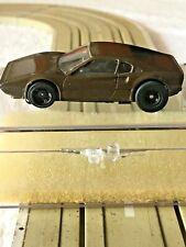 1975 FERRARI 308 GTB BAUER #2060  IN DARK BROWN HO SLOT CAR VERY RARE, VINTAGE..
