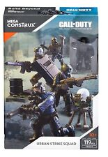 Mega Construx Call Of Duty Urban Strike Squad FMG14 WITH BONUS WEAPON CHEST