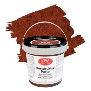 Roststruktur Paste 1 Liter - Rost Braun -