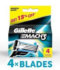 20x Gillette Mach3 Rasierklingen-Cartridge Rasierklinge Rasur Closer mehr Komfor