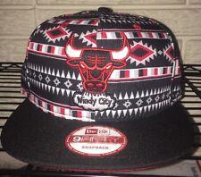 New Chicago Bulls New Era 9Fifty Aztec Tribal Mens Hat Cap SnapBack