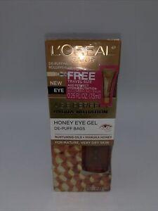 LOREAL AGE PERFECT HYDRA NUTRITION HONEY EYE GEL 0.5 oz + Age Perfect Hydra