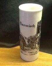 German vase Royal Porzellan Bavaria KM Western Germany the town of Garmisch
