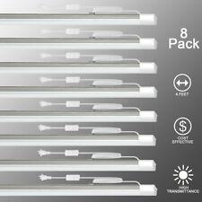 8 Pack LED Batten Light Residential Lighting Ceiling Light 4 Feet 36W 6500k
