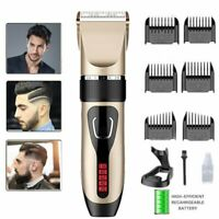 10 in 1 Cordless Hair Cut Kit Cutting Machine Haircut Barber Clipper Trimmer Set