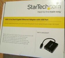 StarTech.com USB 3.0 to Dual Port Gigabit Ethernet Adapter