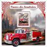 Guinea-Bissau 2017 MNH Fire Engines Trucks Pierce Quantum 6411 1v S/S Stamps