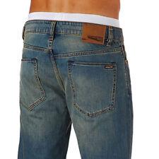 VOLCOM BRAND VORTA SLIM STRAIGHT Jeans - Men's 36 X 32 (Fog) NWT