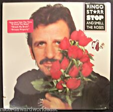 Ringo Starr Stop And Smell The Roses LP NBI 33246 Boardwalk Cover Sticker Sealed