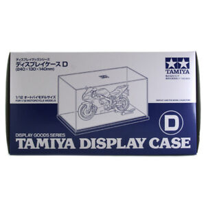 Tamiya Display Case D 240 x 130 x 140mm 73005 Ideal for 1/12 Scale Motorcycles