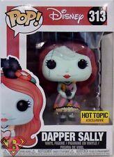 "DAPPER SALLY Nightmare Before Christmas Disney Pop 4"" Vinyl Figure 313 Hot Topic"