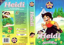 HEIDI (1986) VHS Stardust 1a Ed. Le Favole + belle  - Rarissima
