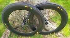 MAVIC COSMIC CXR 80 Carbon Wheelset 700C Tubular 11 Spd Shimano SRAM