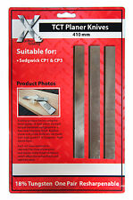 SEDGWICK 410 x 25 x 3 CARBIDE One set of 3 PLANER/THICKNESSER blades TCT 410253