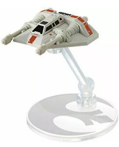 Hot Wheels Star Wars Rebel Snowspeeder With Flight Stand