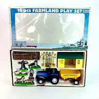 Vintage 1980s Farmland Playset New Boxed New-Ray Toys Age 4 and Above HTF