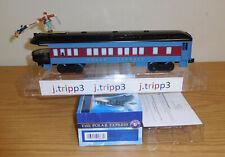 Lionel 2027800 Polar Express Skiing Hobo Passenger Observation Car Train O Gauge