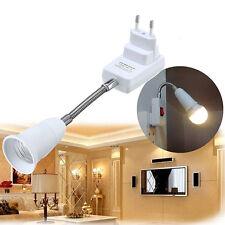 E27 Holder Flexible Light Lamp Extension Adapter Converter.Socket Switch  Gift