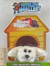 World's Smallest POUND PUPPIES Toy Dog Puppy POODLE LAB DOODLE Doll Mini Plush