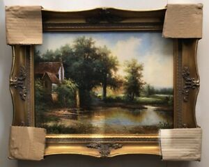 """Framed Traditional Oil Paintings 16x20"""""""